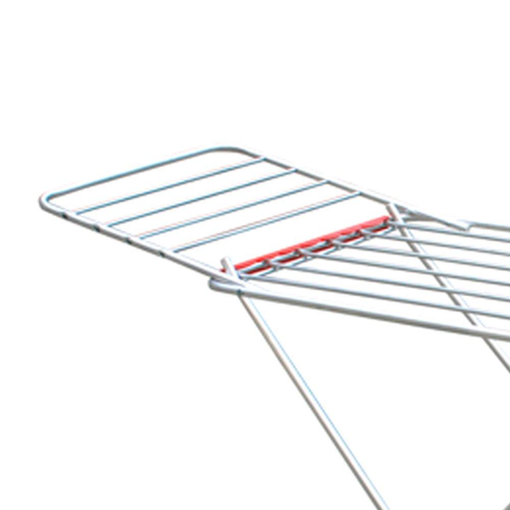 Varal de Chão em Alumínio com Abas 1,20 x 0,56m Capacidade 19,5Kg  - Imagem zoom