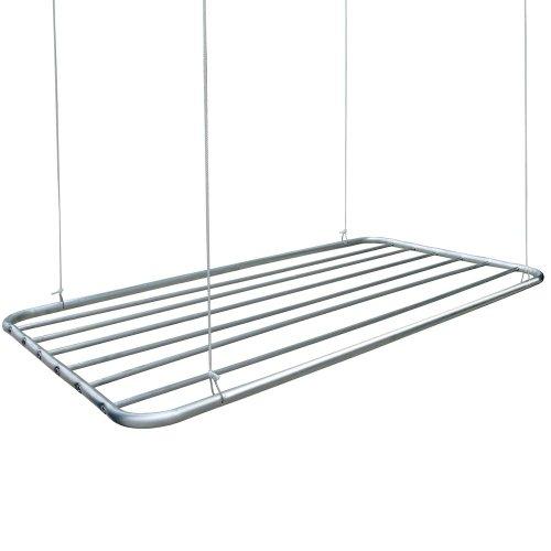varal de teto alumínio 80 x 56 cm