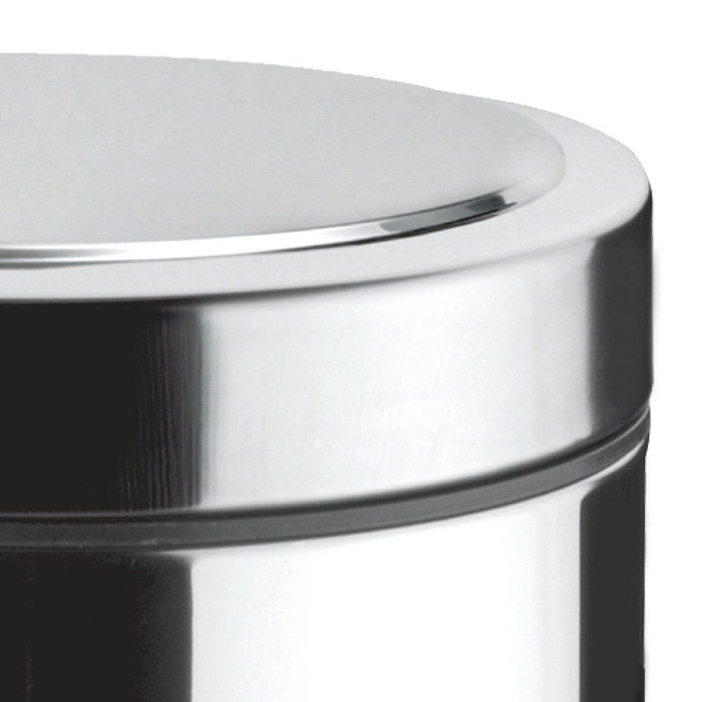 Lixeira Inox com Pedal 3 Litros - Imagem zoom