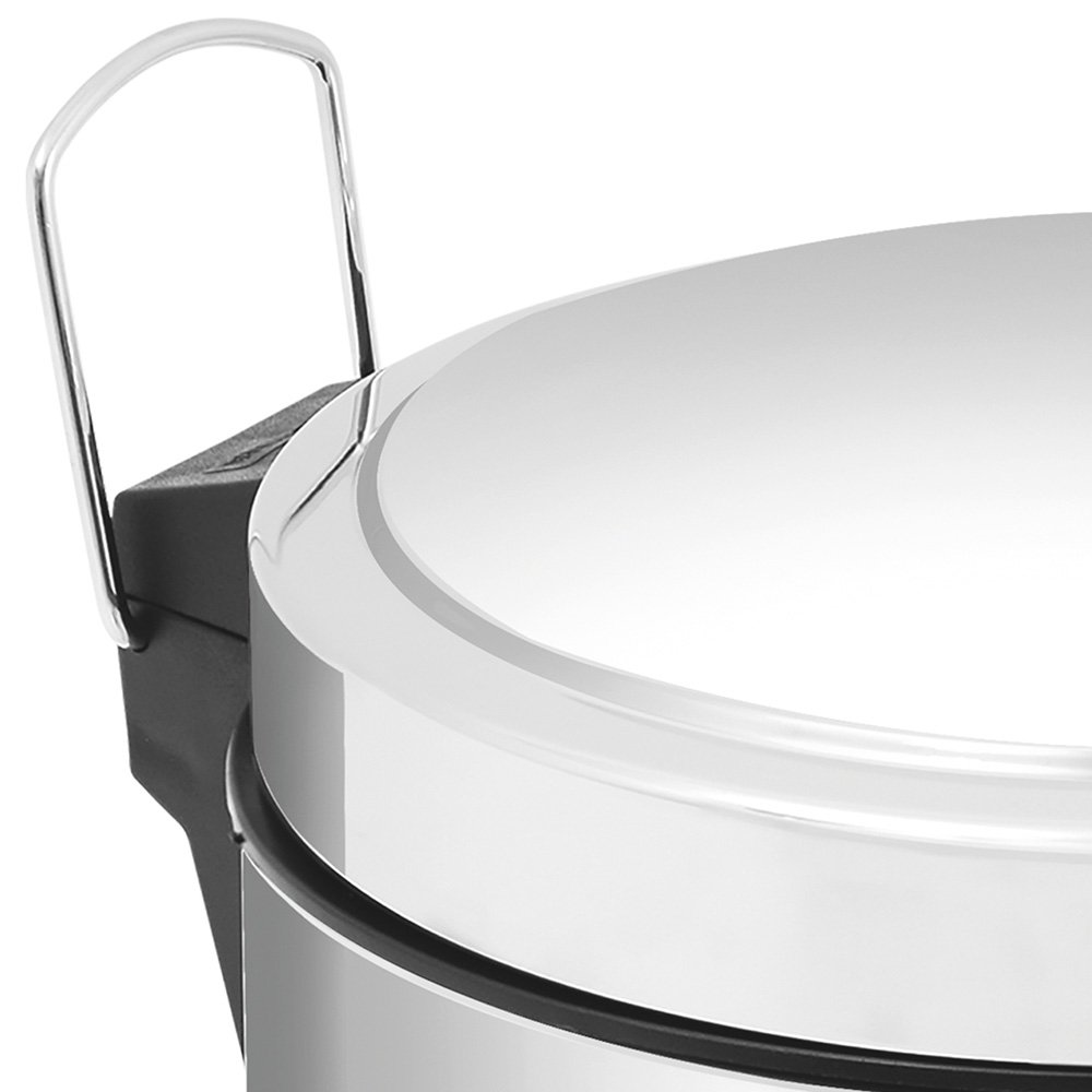 Lixeira Inox com Pedal 12 Litros - Imagem zoom