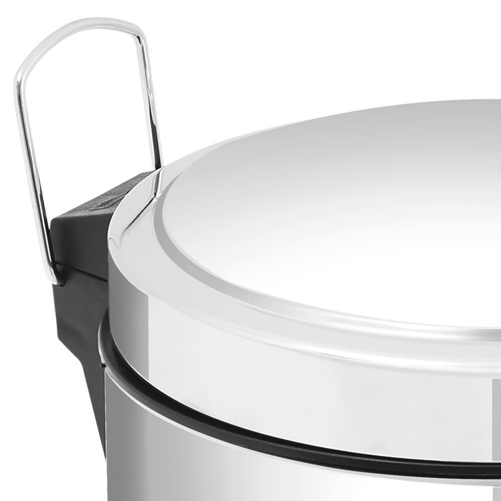 Lixeira Inox com Pedal 20 Litros - Imagem zoom