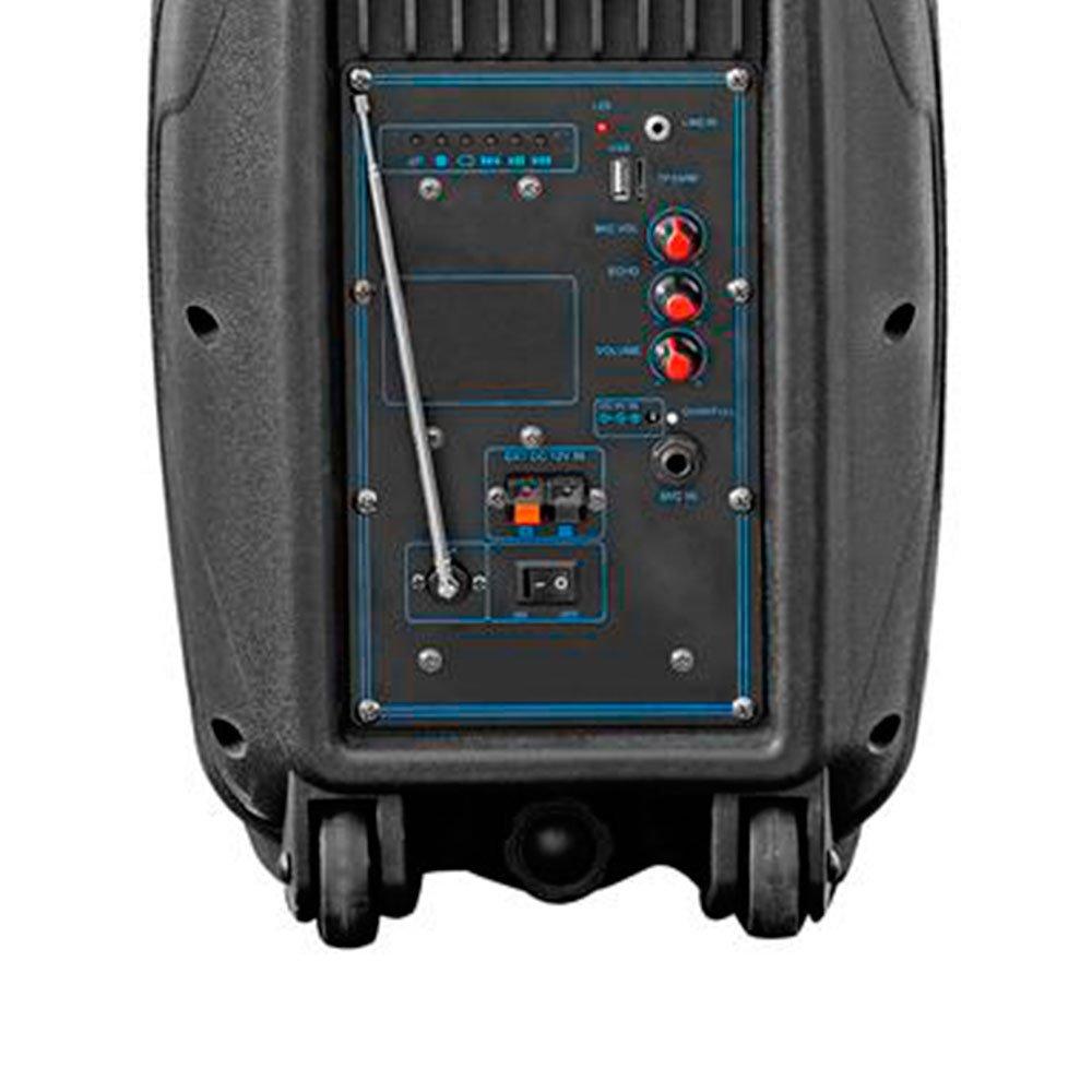 Caixa de Som Multifuncional Ativo Amplificadora 8Pol. 100W RMS FM/SD/USB/P2  - Imagem zoom