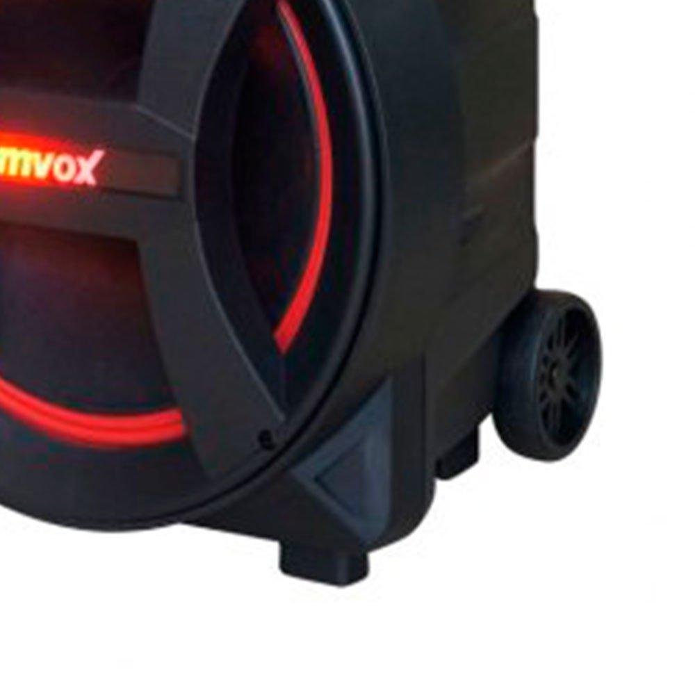 Caixa de Som Amplificada 290W Bivolt 110/220V com Karaokê, Bluetooth e Rádio FM - Imagem zoom