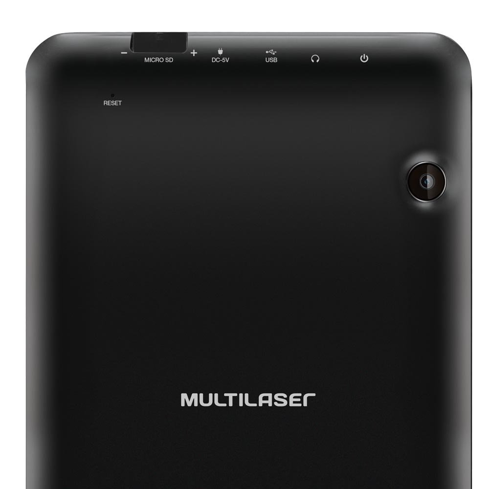 Tablet Multilaser M7s Preto Quad Core Android 4.4 7 Pol. 8Gb Dual Câmera - Imagem zoom