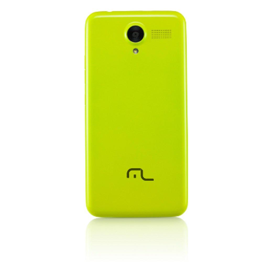 Smartphone MS50 4G Quad Core Dual 5 Pol. Preto - Imagem zoom