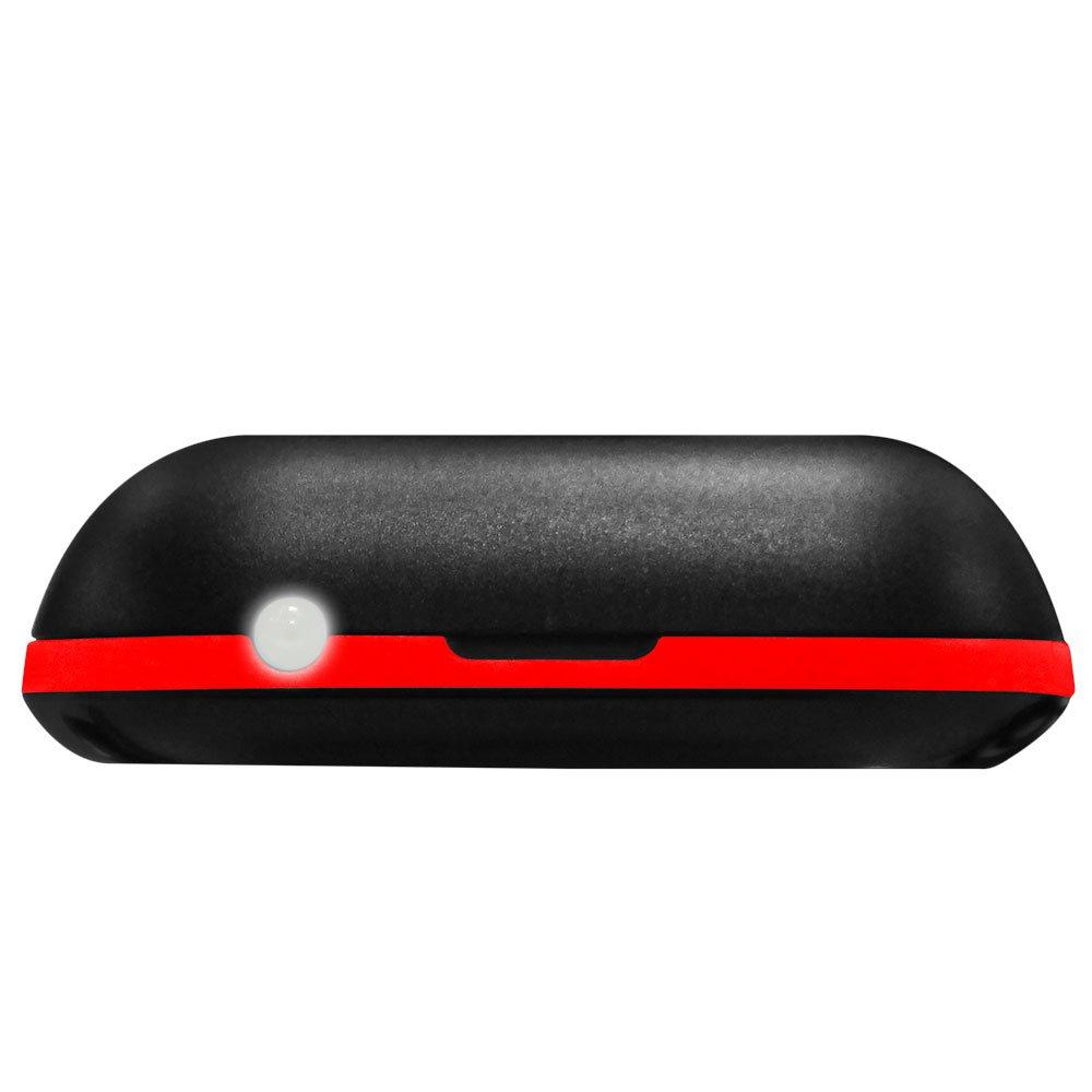 Celular Dual Chip Preto e Vermelho Tela 1,8 Pol. Bluetooth e Câmera VGA - Imagem zoom