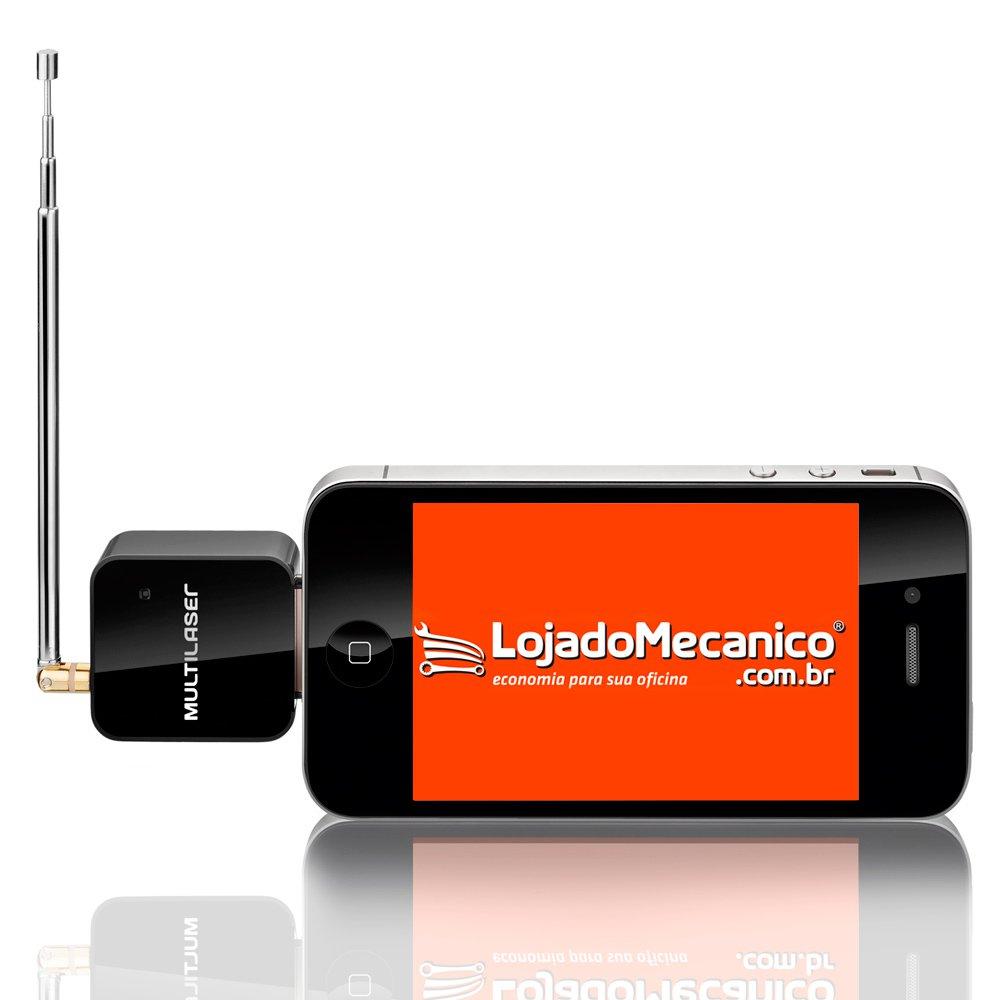 Receptor de TV Digital para iPhone, iPod e iPad - Imagem zoom
