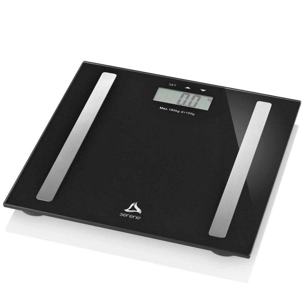 Balança Digital Digi-Health Pro Serene 180Kg Preta - Imagem zoom