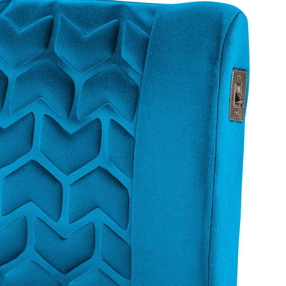 Encosto Massageador Ergo Back para Lombar Azul - Imagem zoom