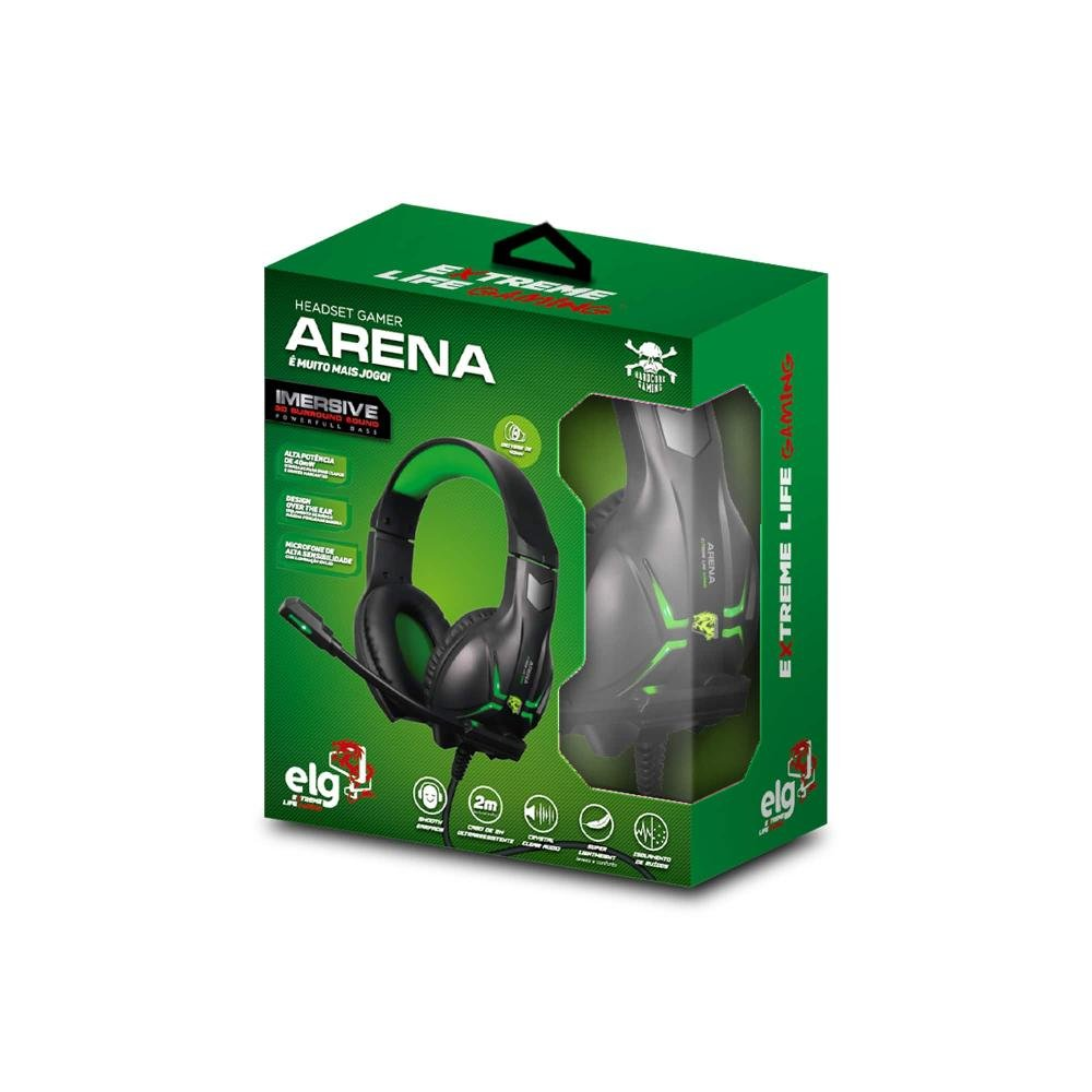 Headset Gamer Arena - Imagem zoom