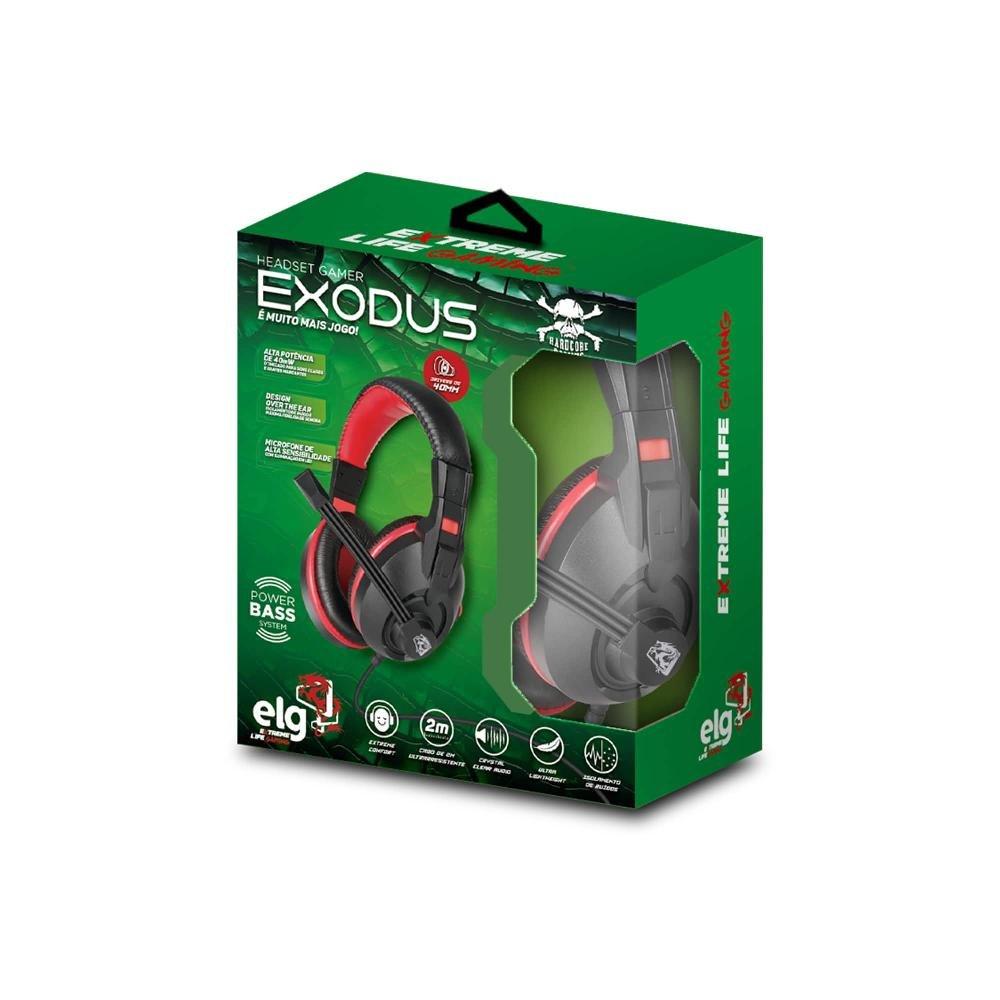 Headset Gamer Exodus - Imagem zoom