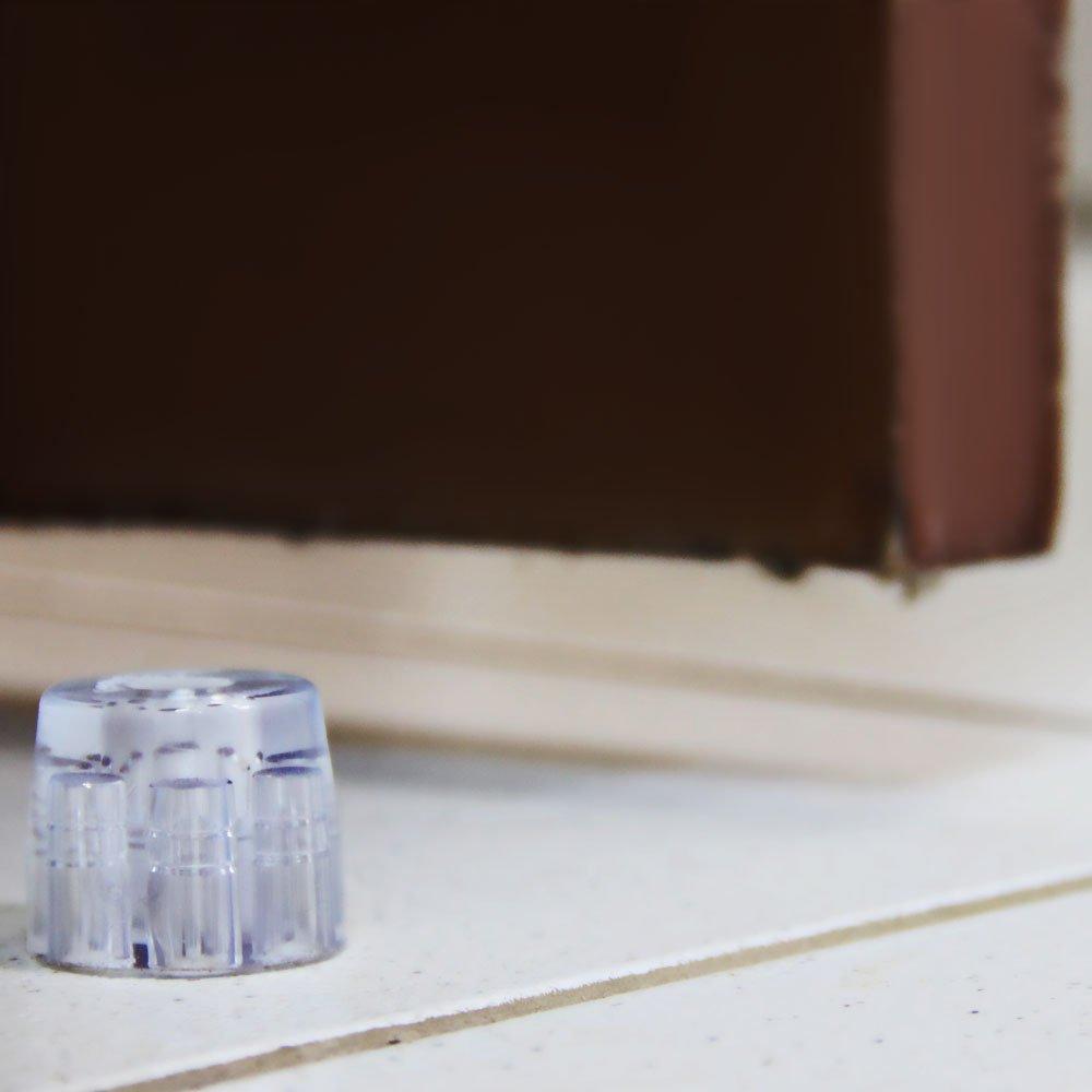Batedor para Porta Chato Transparente 1 Unidade - Imagem zoom