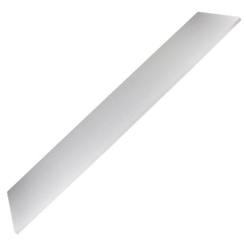 prateleira retangular 100 x 25 cm branca