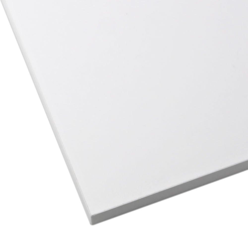 Prateleira Retangular 100 x 25 cm Branca - Imagem zoom