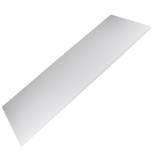 prateleira retangular 80 x 30 cm branca