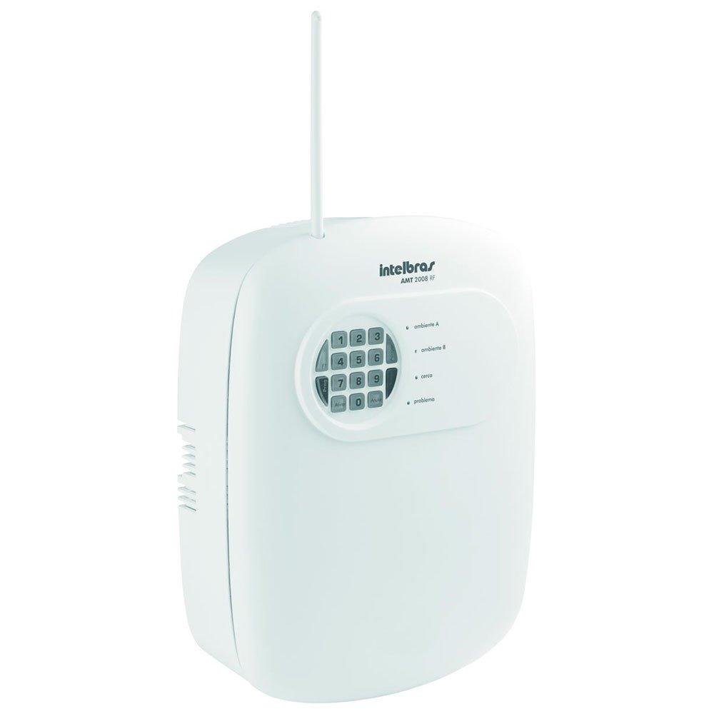 Central de Alarme Monitorada AMT-2008RF com 8 Zonas com Fio 8 sem Fio