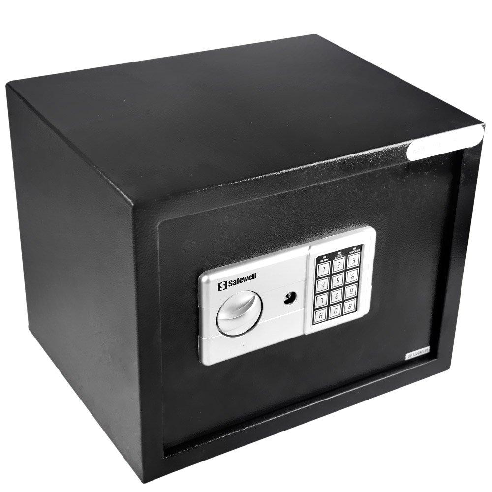 Cofre Eletrônico Preto - Imagem zoom