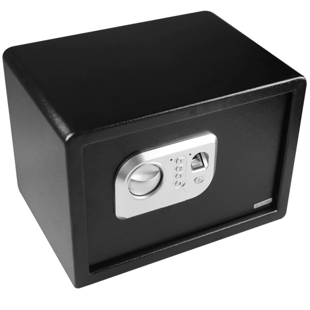 Cofre Eletrônico com Impressão Digital - Preto - Imagem zoom