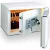 Cofre Branco Estilo Refrigerador - Imagem 1