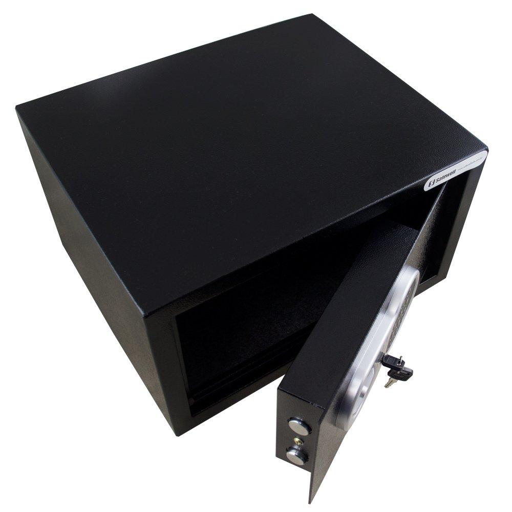 Cofre Eletrônico Anti-Roubo Preto 229 x 405 x 335 mm - Imagem zoom