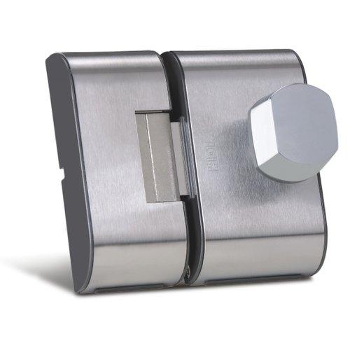 fechadura para porta de 2r cromada