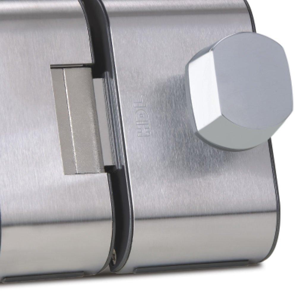Fechadura para Porta de 2R Cromada - Imagem zoom