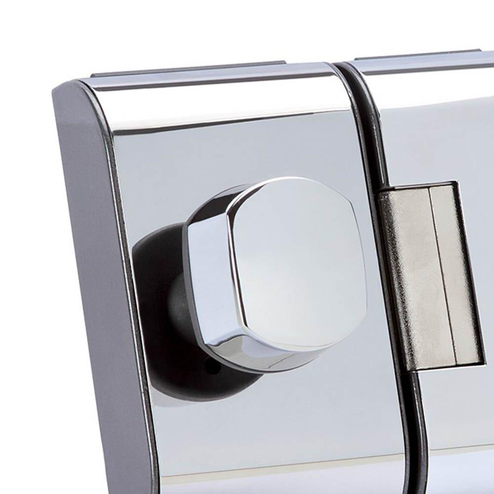 Fechadura para Porta de Vidro PV-90 1F Cromada  - Imagem zoom