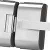 Fechadura Elétrica em Inox para Porta de Vidro com 2 Folhas PV90 - Imagem 3