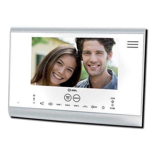 interfone extensão para vídeo color sense seven branco