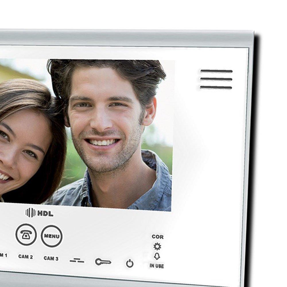 Interfone Extensão para Vídeo Color Sense Seven Branco - Imagem zoom