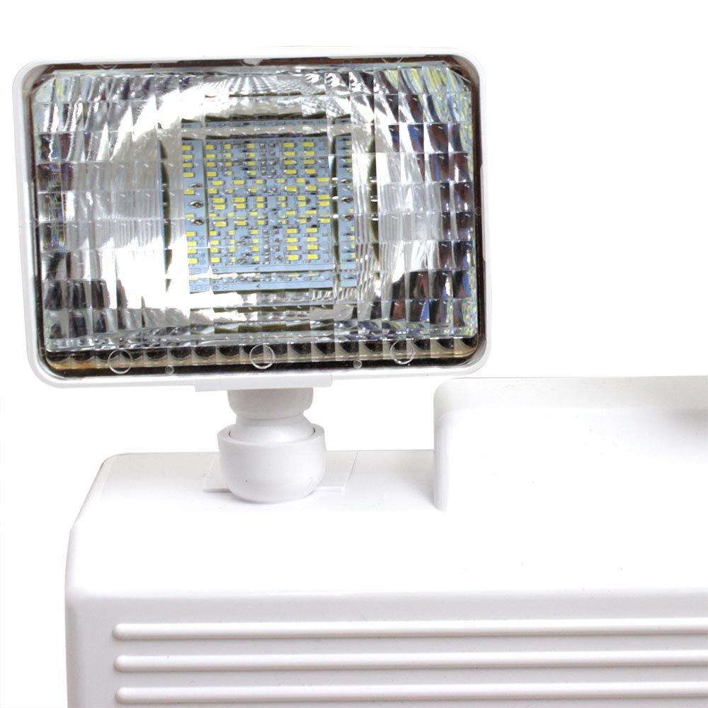 Iluminação Emergência LED 2 Faróis 960 Lumens com Bateria Selada - Imagem zoom