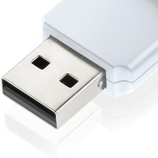 Pen Drive Twist 8 GB Branco - Imagem zoom