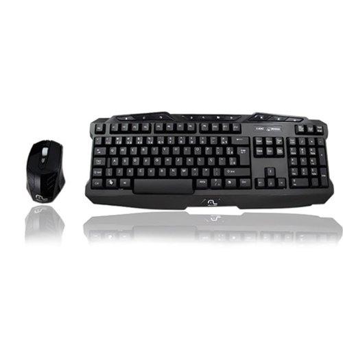 combo gamer 2.4 ghz com teclado e mouse sem fio