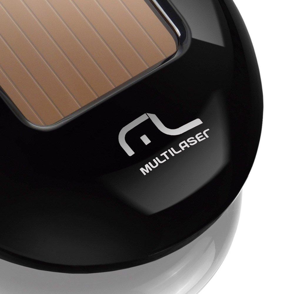 Mouse Solar sem Fio 2.4ghz com Sensor Laser Preto - Imagem zoom