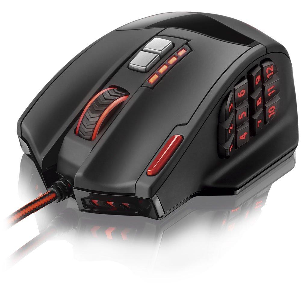 Mouse Gamer Warrior com 18 Botões 4000 DPI - Imagem zoom