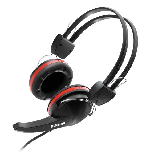 fone de ouvido com microfone premium gamer crab ps2