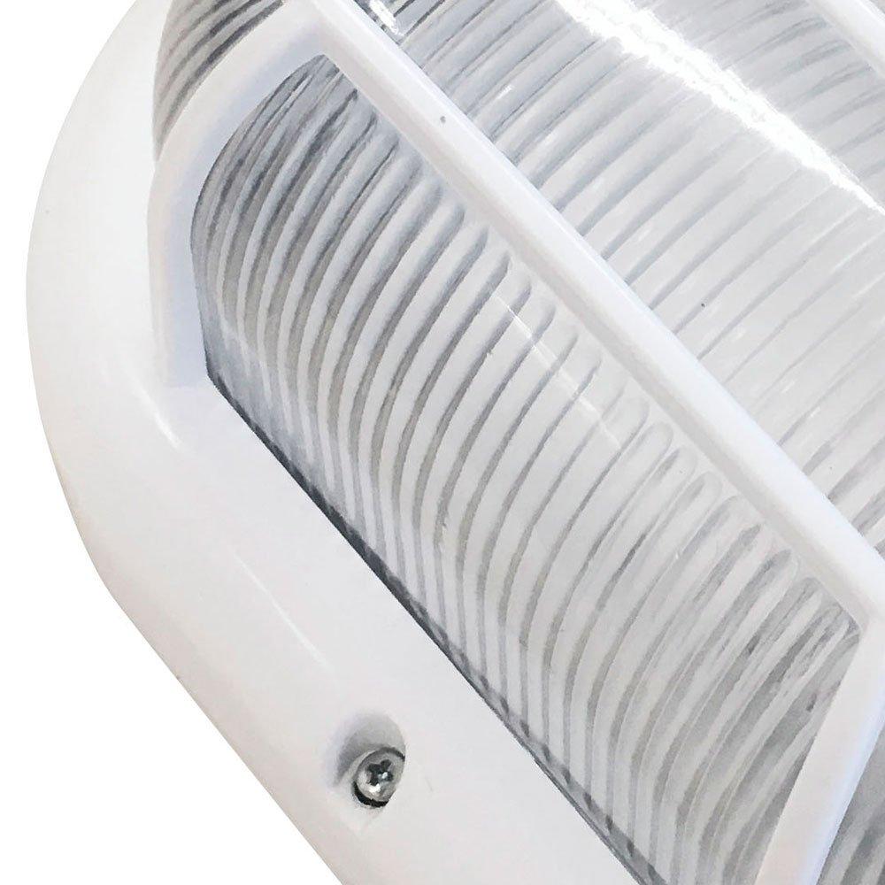 Luminária Tipo Tartaruga 60W Branca E27 - Imagem zoom
