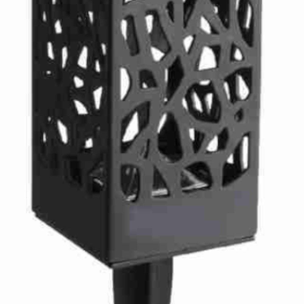 Luminária Solar Balizadora Retangular LED 3000K Branco  - Imagem zoom