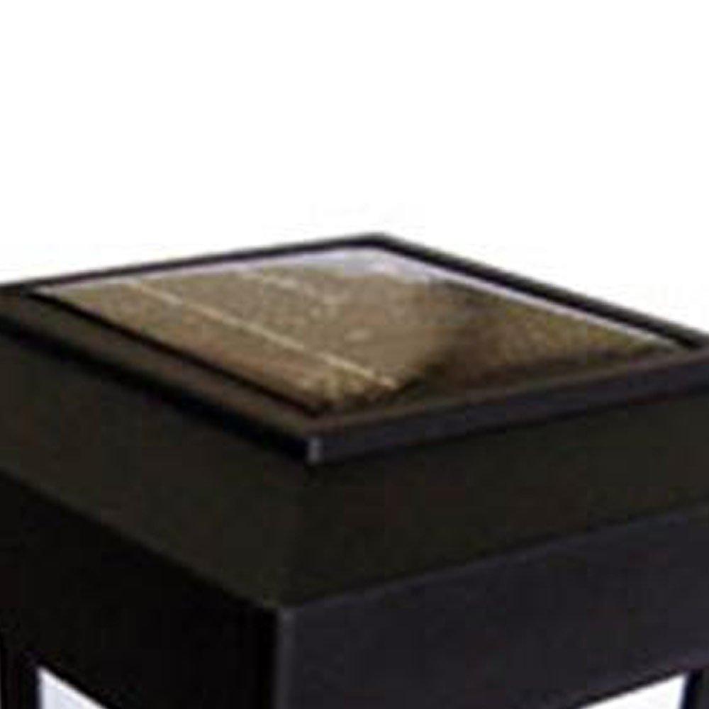 Luminária Solar Balizadora Tipo Lampião LED 6000K Branco  - Imagem zoom