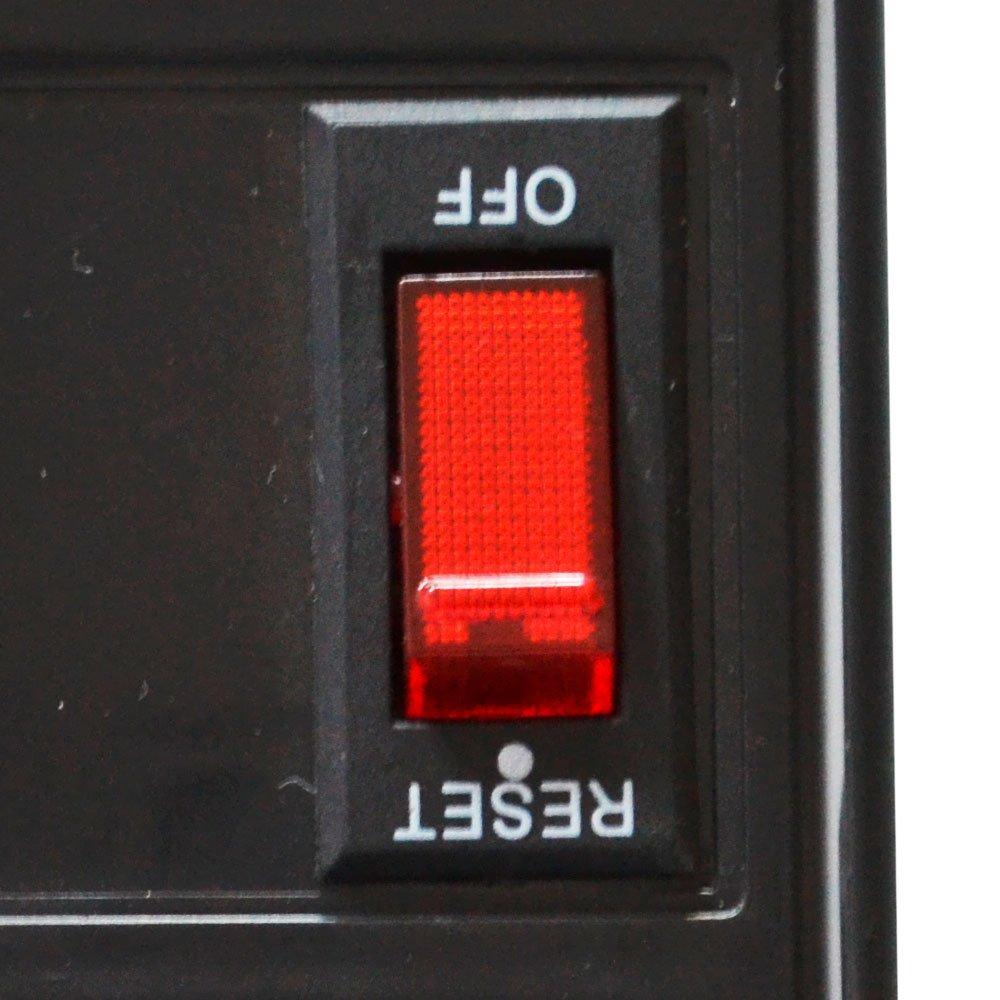Filtro de Linha com 5 Tomadas Horizontais - Imagem zoom