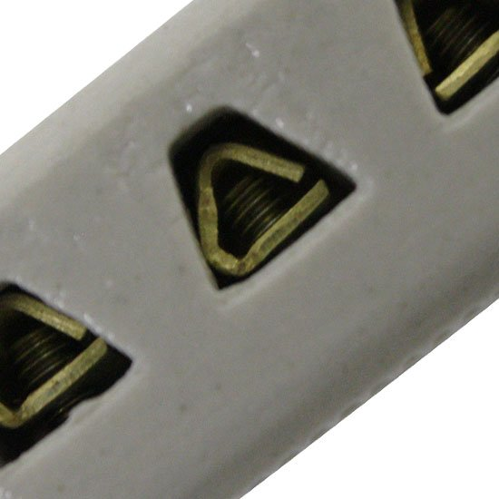 Conector Múltiplo de  Porcelana 4mm - Imagem zoom