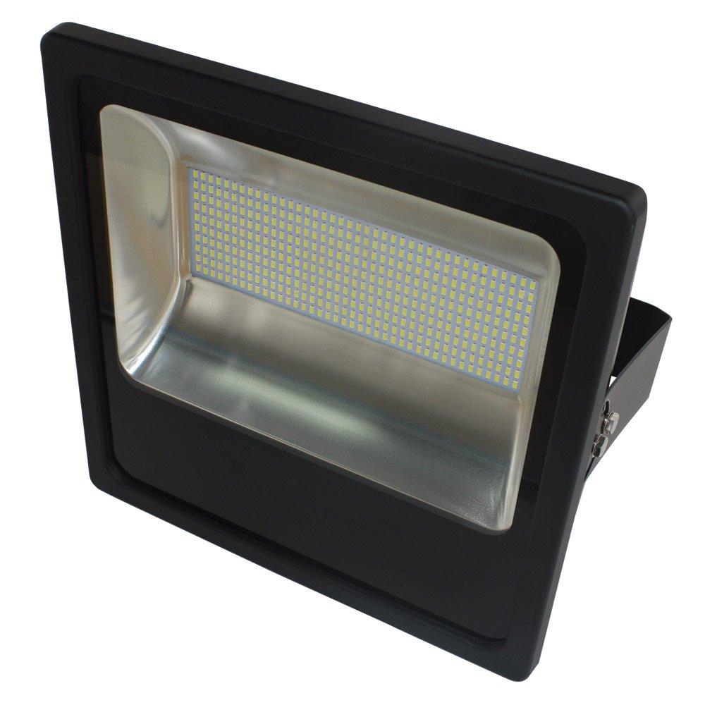 Refletor LED Slim 200W Luz Branca 6.000K Bivolt - Imagem zoom