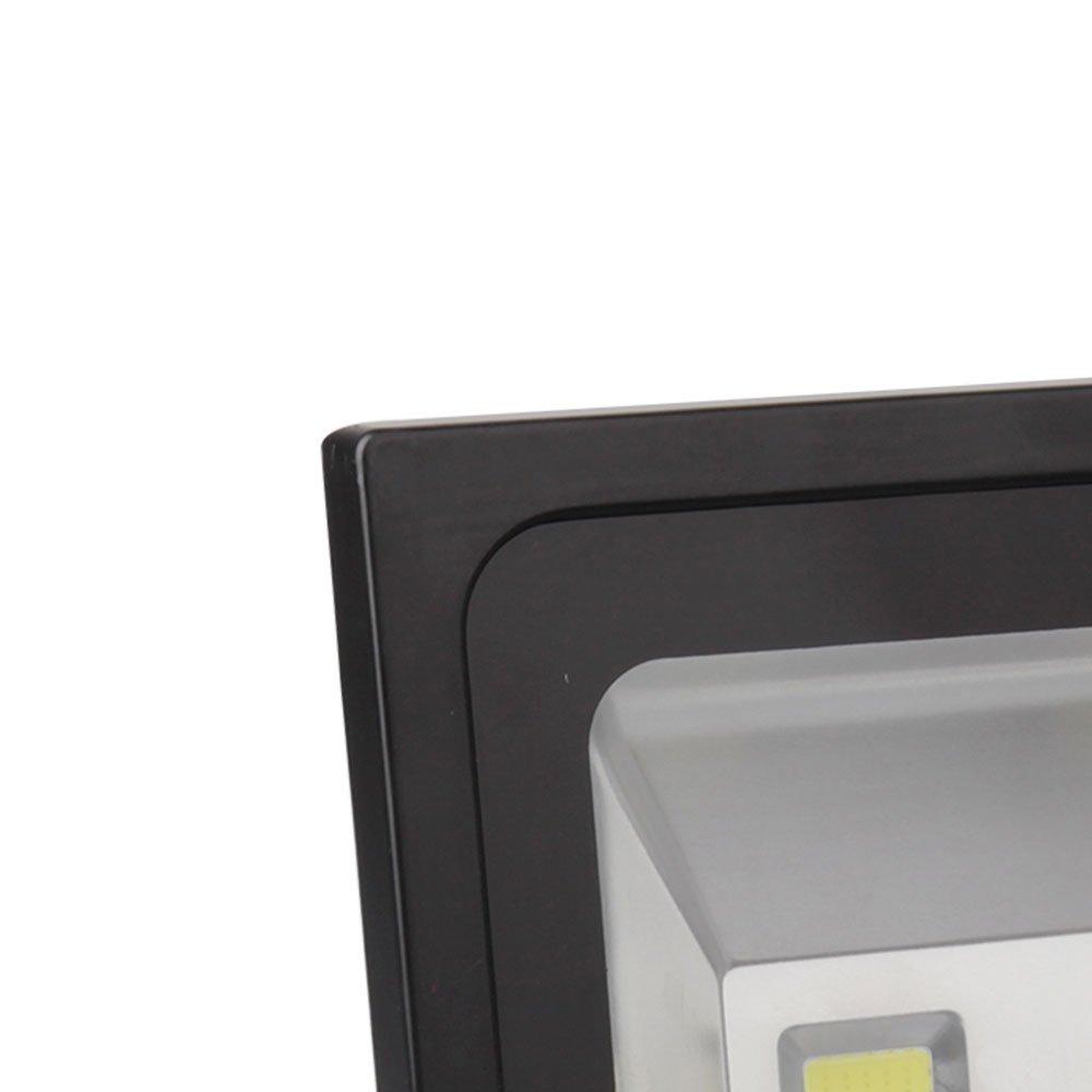 Refletor Led Ultra Slim 200W 5000K Branca com Alça Articulada - Imagem zoom