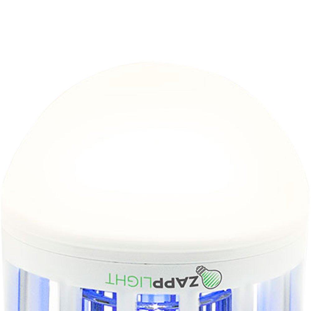 Lâmpada LED Branca 2 em 1 com Mata Insetos 3500K 110V - Imagem zoom