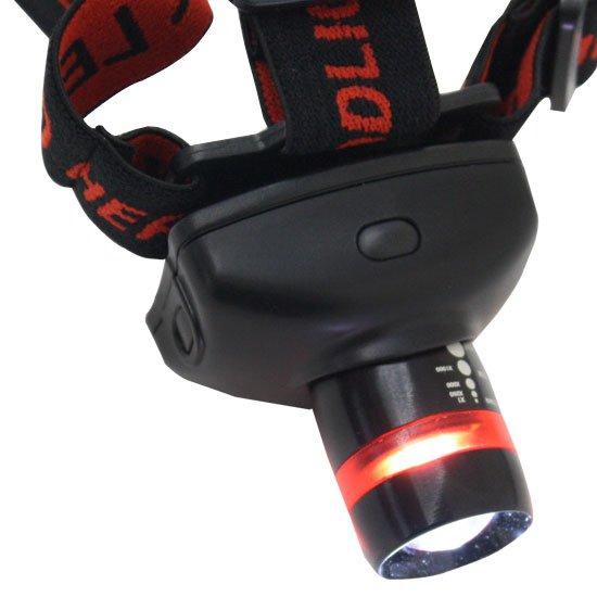 Lanterna com Suporte para Cabeça de 1W  de Iluminação - Imagem zoom