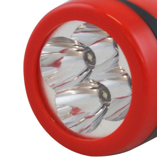 Lanterna Recarregável com 04 Leds  - Imagem zoom
