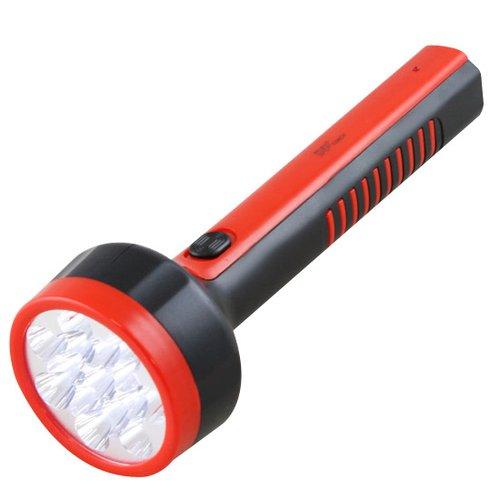 lanterna recarregável com 15 leds