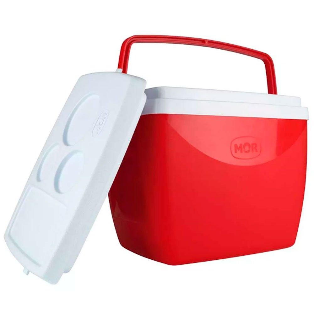 Caixa Térmica 18L Vermelha - Imagem zoom