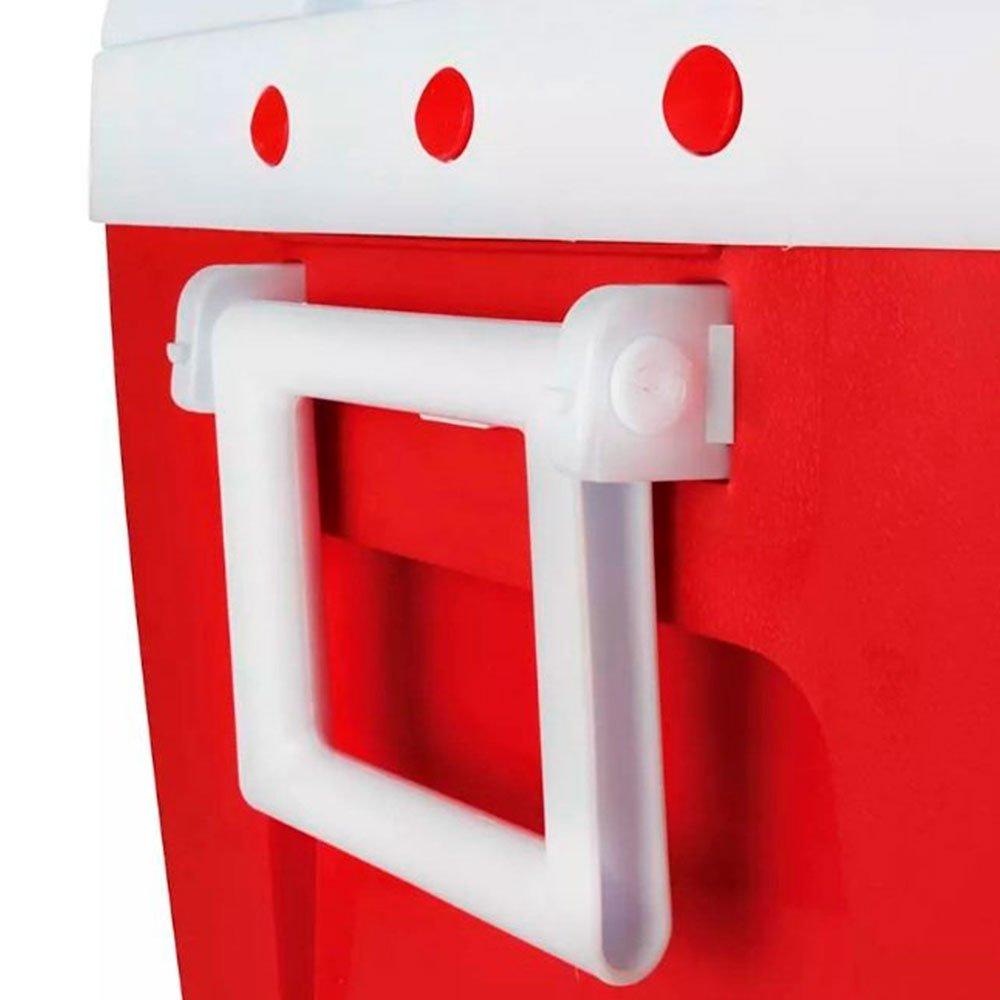 Caixa Térmica 75L Vermelha - Imagem zoom