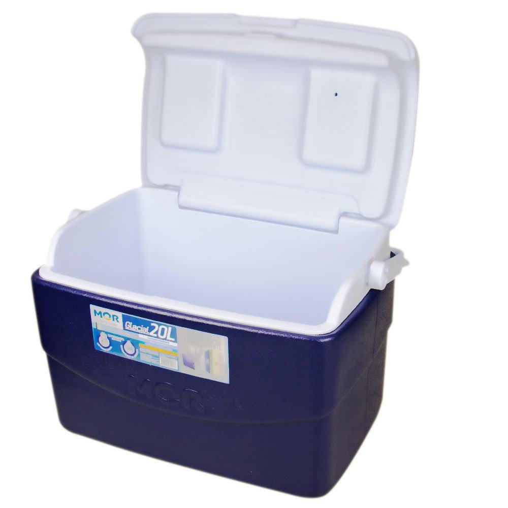 Caixa Térmica Glacial 20 Litros Azul com Alça - Imagem zoom